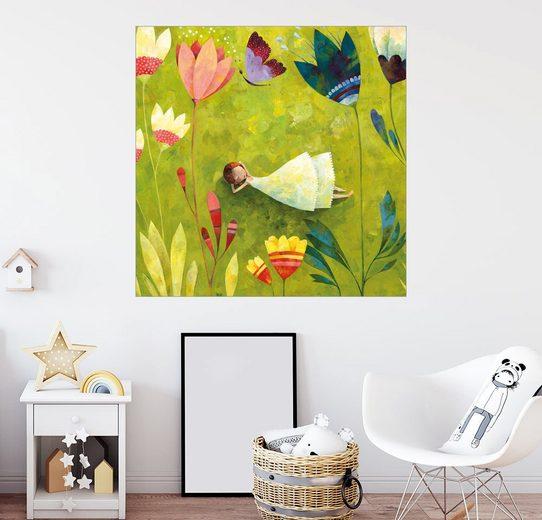 Posterlounge Wandbild - Aurelie Blanz »Blumenwiese«