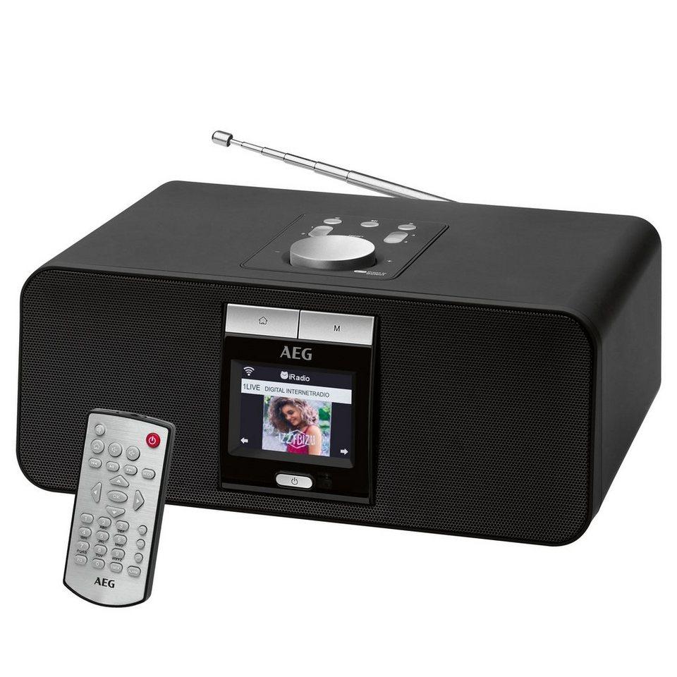 aeg internet stereoradio mit bluetooth usb anschluss ir. Black Bedroom Furniture Sets. Home Design Ideas