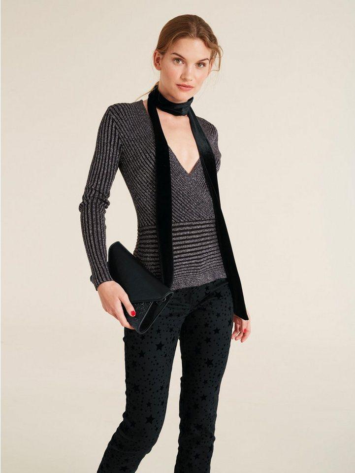 heine style pullover mit effektgarn  kaufen otto