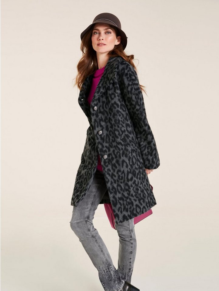 letzter Rabatt Professionel bieten eine große Auswahl an heine TIMELESS Mantel mit Animal-Dessin kaufen | OTTO