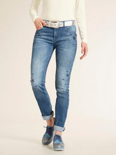 heine CASUAL Jeans mit Schmuckelementen