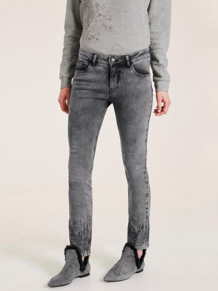 heine TIMELESS Push-up Jeans mit Pailletten