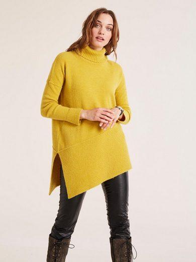 heine CASUAL Pullover mit asymmetrischem Saum