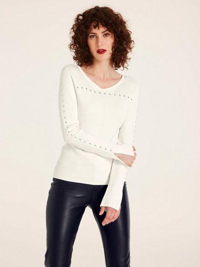 heine TIMELESS Pullover mit Nieten