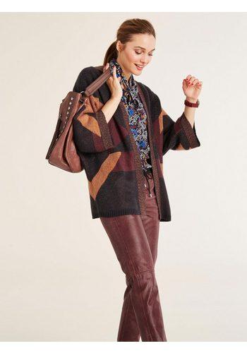 Damen heine STYLE Cardigan Mit Mohair bunt,mehrfarbig | 06921512231970