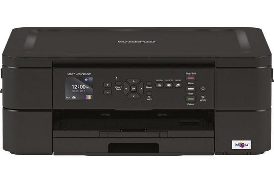 Brother Tintenstrahl-Multifunktionsdrucker »DCP-J572DW 3in1«