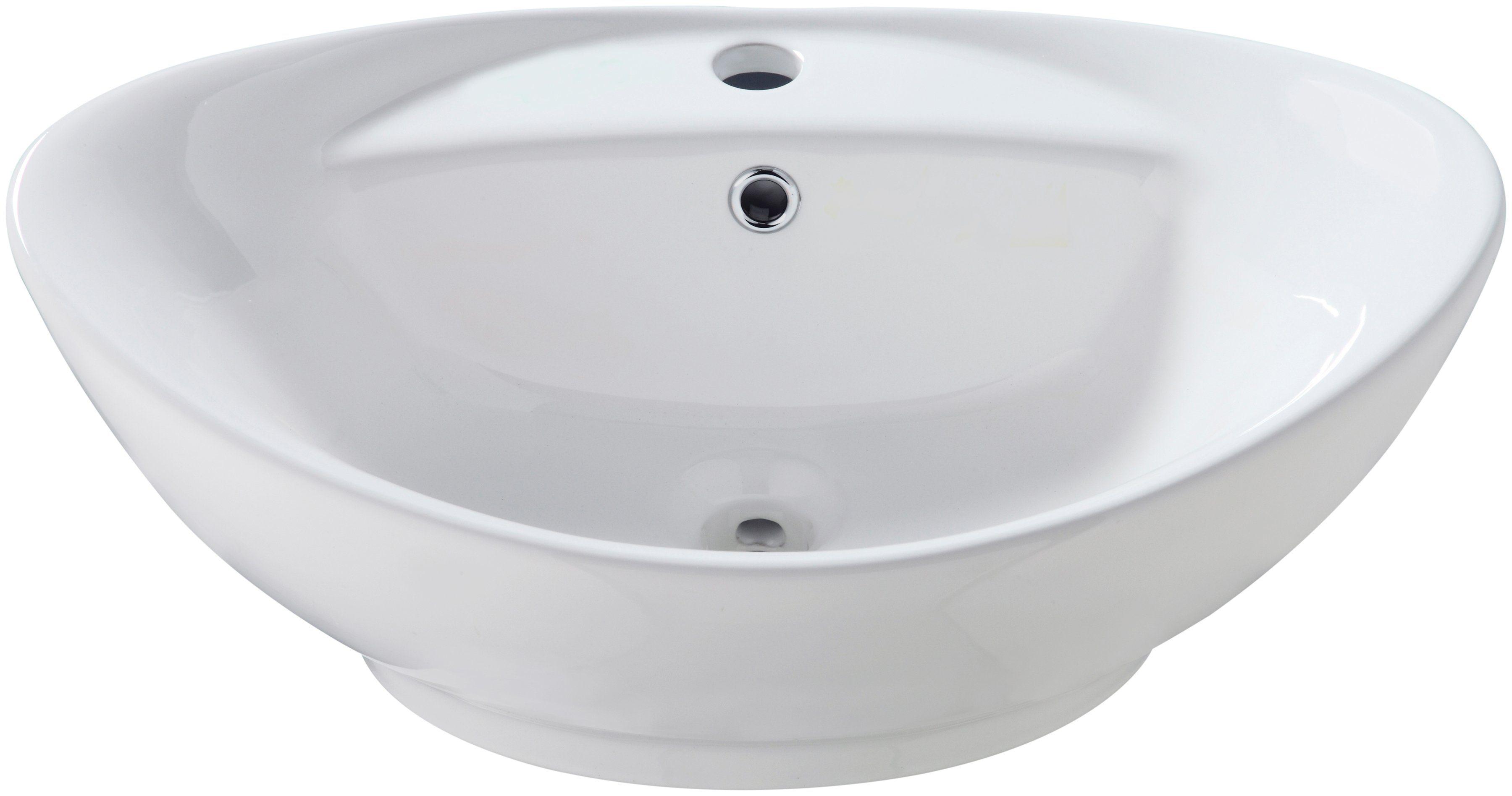 Aufsatzbecken »Bilbao«, Waschbecken, oval, Breite 60 cm