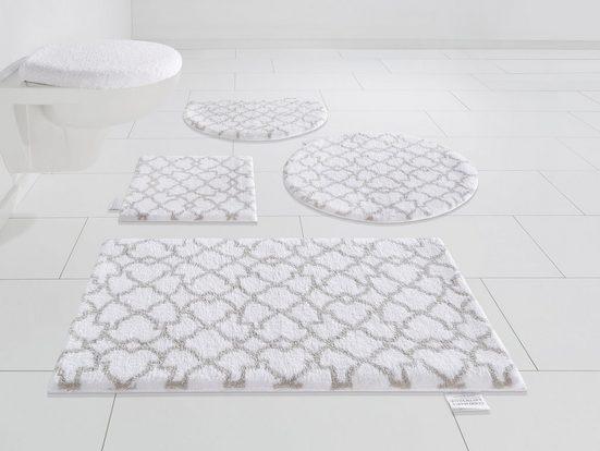 Badematte »Birdal« Guido Maria Kretschmer Home&Living, Höhe 15 mm, rutschhemmend beschichtet, fußbodenheizungsgeeignet