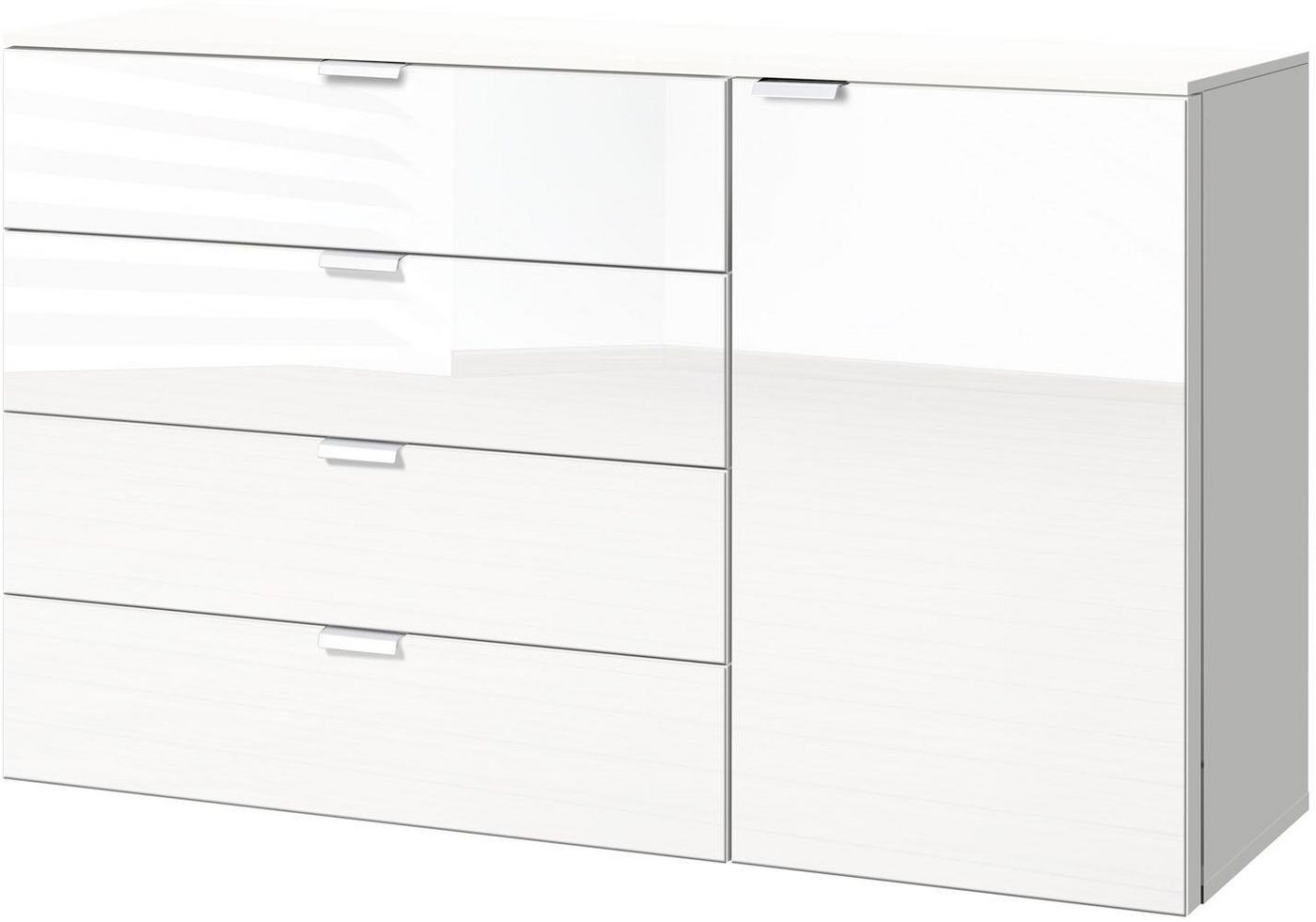 Kommoden, Sideboards und Schminktische - Express Solutions Kombikommode, Breite 130 cm  - Onlineshop OTTO