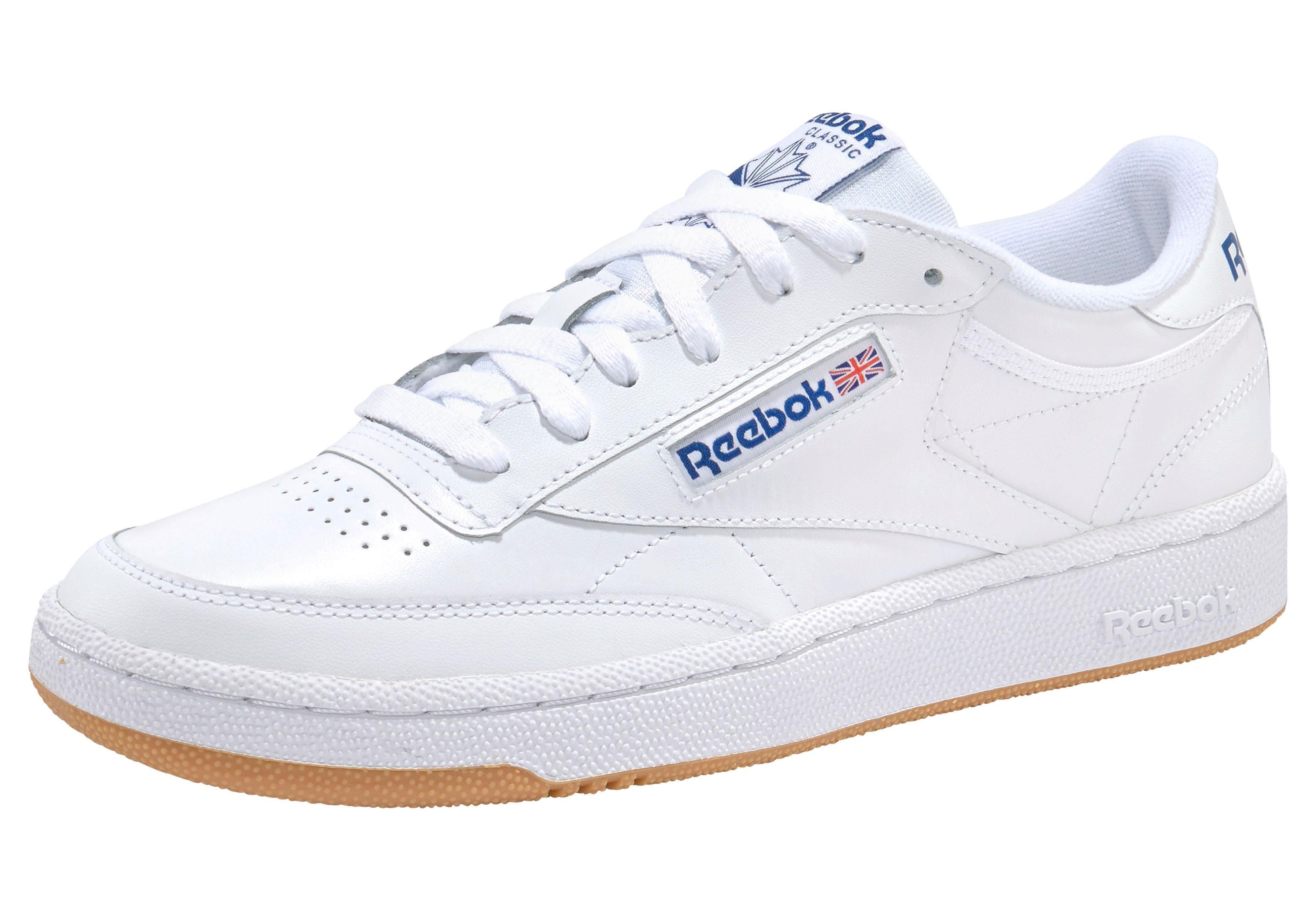 Reebok Classic »Club C 85« Sneaker, Weiches und atmungsaktives Obermaterial aus Leder online kaufen | OTTO