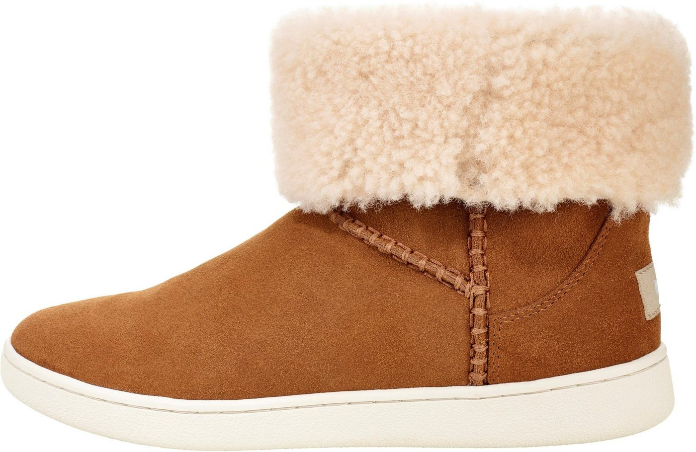 UGG »Mika Classic Sneaker« Schlupfboots mit dekorativen Nähten | Schuhe > Stiefel > Winterstiefel | Braun | UGG