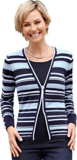 Casual Looks Pullover in 2-in-1-Optik