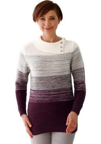 Damen Collection L. Pullover mit asymmetrischen Kragen  | 08994832067497