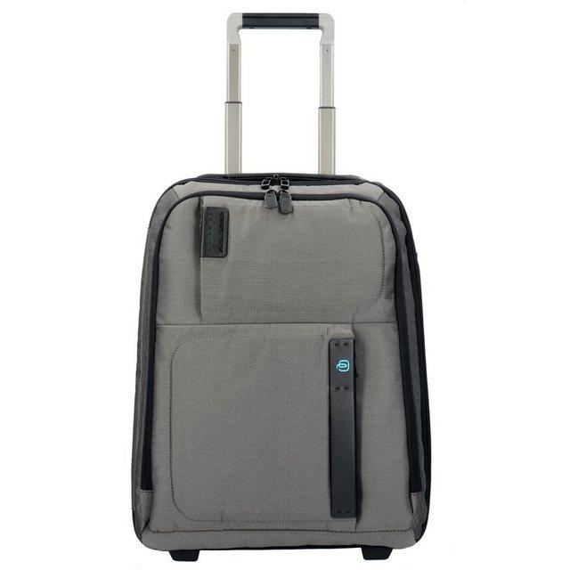 Piquadro P16 2-Rollen Kabinentrolley 50 cm Laptopfach | Taschen > Koffer & Trolleys > Trolleys | Grau | Piquadro