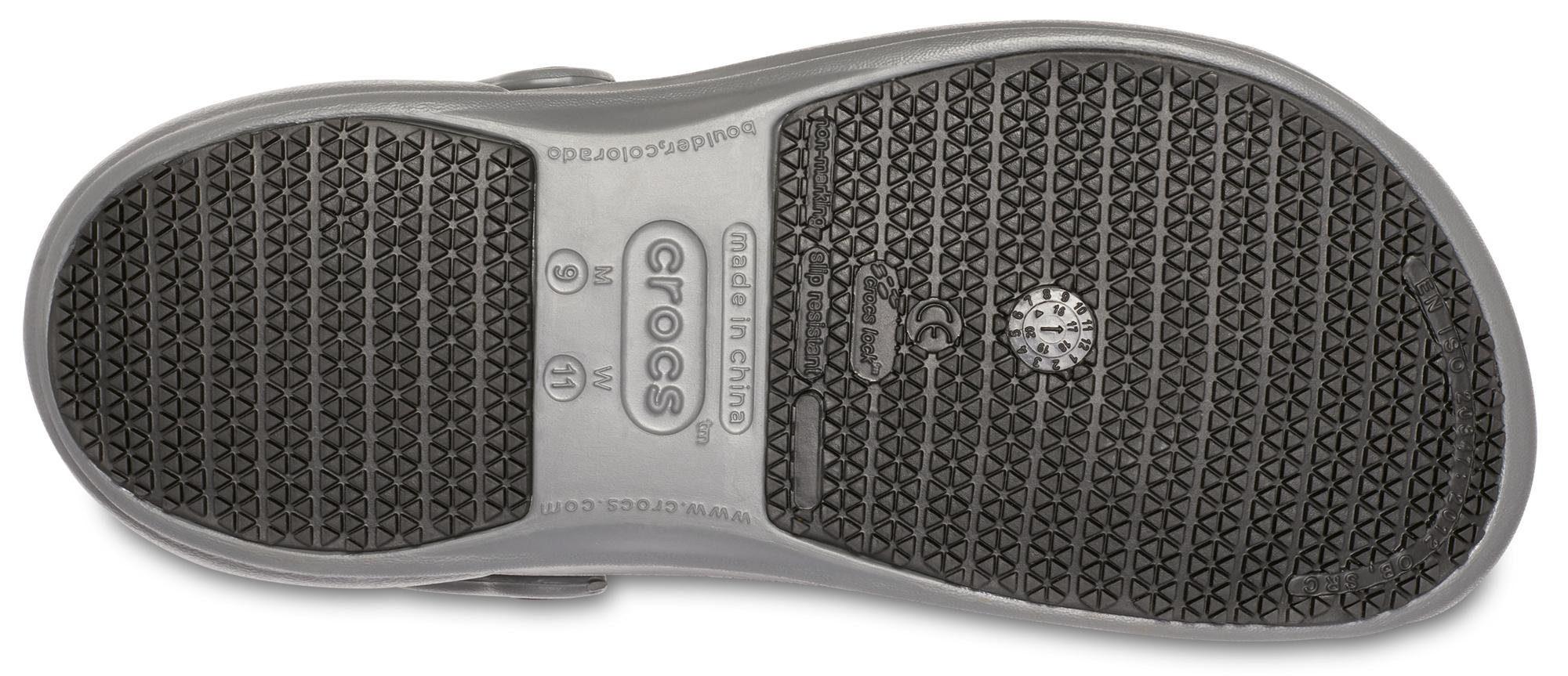 Crocs Bistro Clog, mit geschlossenem Fußbereich  grau