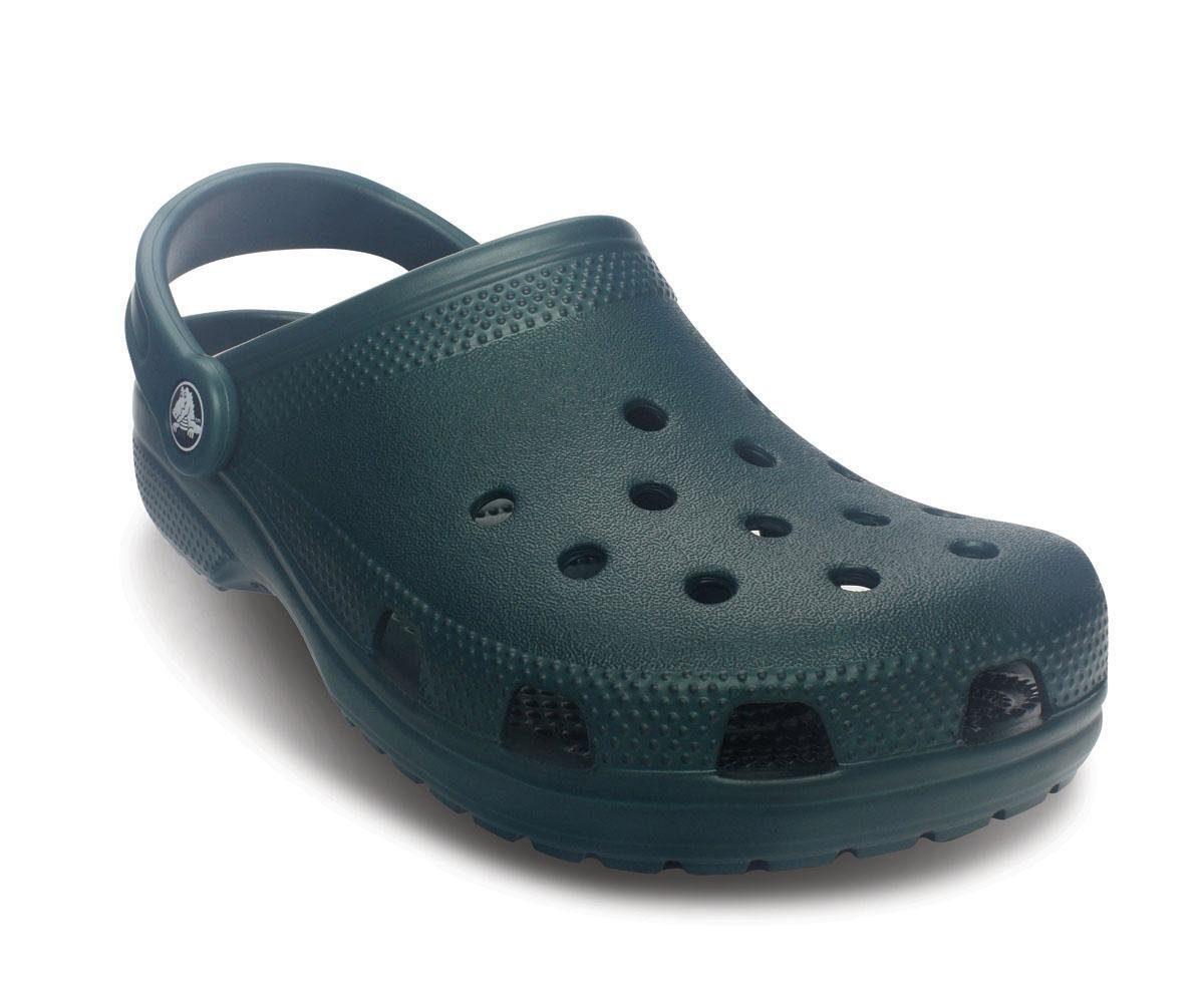 Crocs Classic Clog, mit typischem Logo kaufen  dunkelgrün