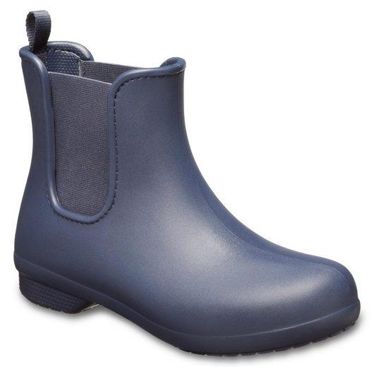 Crocs »Freesail Chelsea Boot W« Gummistiefel mit praktischem Stretcheinsatz