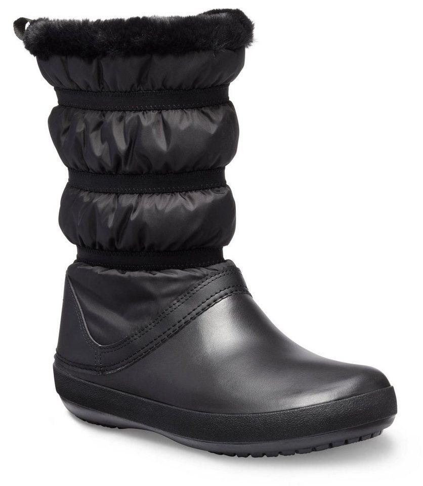 crocs winterstiefel mit gestepptem schaft kaufen otto. Black Bedroom Furniture Sets. Home Design Ideas
