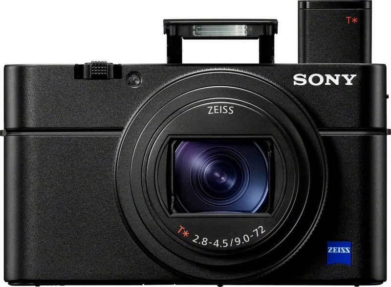 Sony »DSC-RX100M6« Kompaktkamera (ZEISS Vario-Sonnar T, 20,1 MP, 8x opt. Zoom, Bluetooth, NFC, WLAN (Wi-Fi)