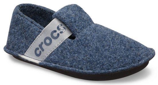 Crocs »Classic Slipper« Hausschuh mit cooler Logoapplikation