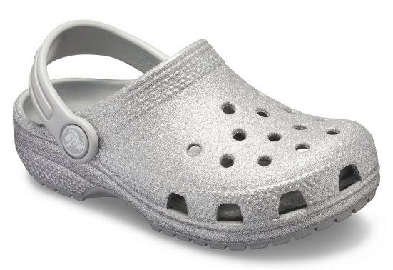 Crocs »Classic Glitter Clog K« Clog für eine Glitzerprinzessin