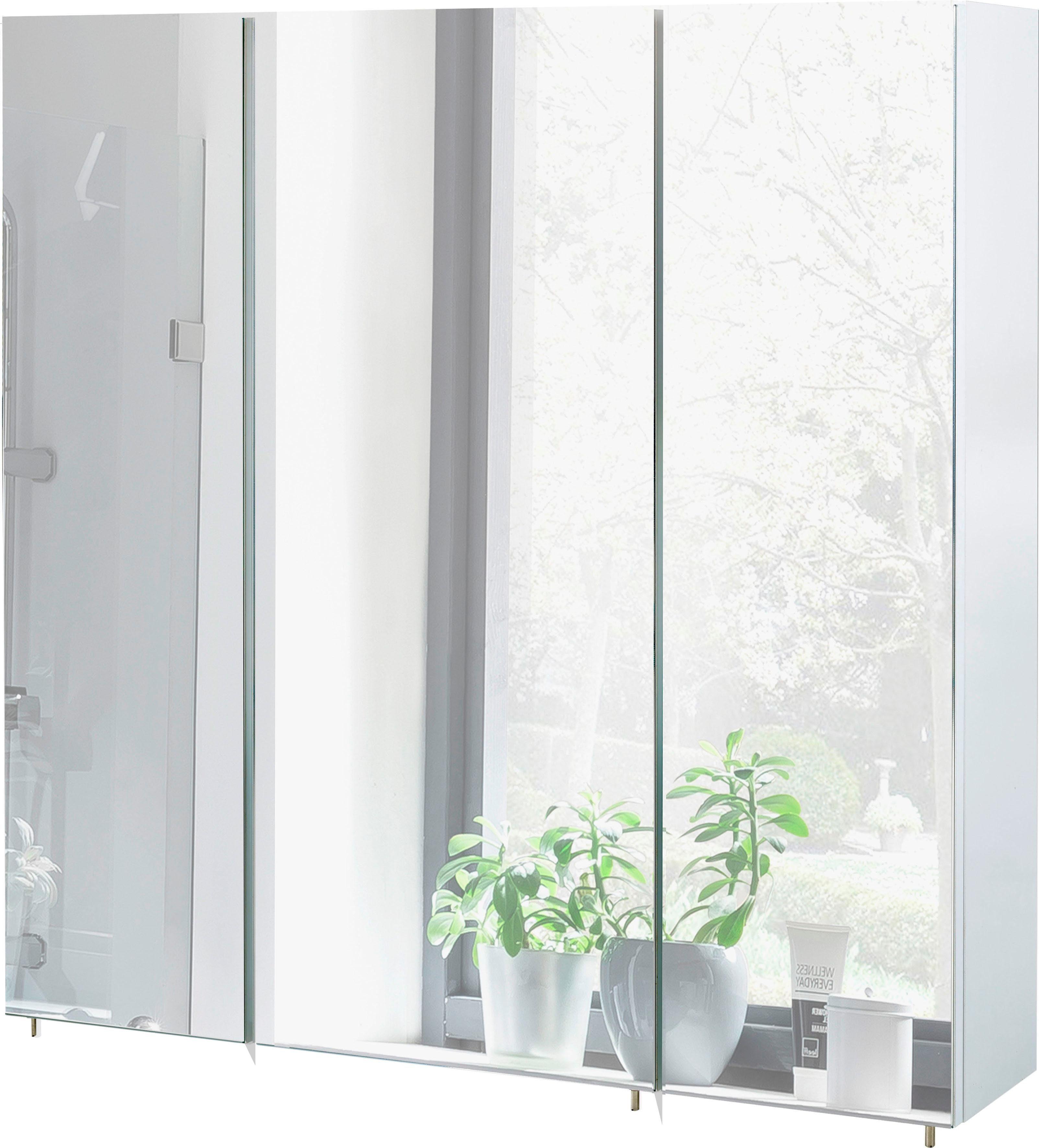Schildmeyer Spiegelschrank »Basic«, Breite 70 cm
