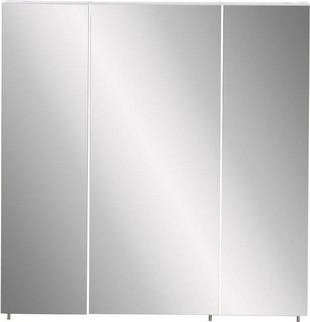 Spiegel - Schildmeyer Spiegelschrank »Basic« Breite 70 cm, 3 türig, Glaseinlegeböden, Made in Germany  - Onlineshop OTTO