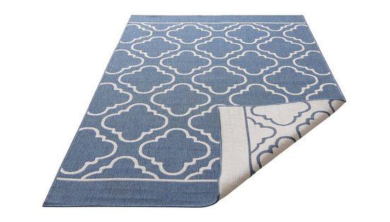 Teppich »Laila«, my home, rechteckig, Höhe 5 mm, In- und Outdoor geeignet, Wendeteppich