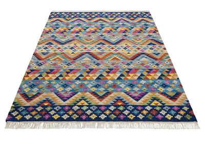 Teppich »Koos«, Theko Exklusiv, rechteckig, Höhe 8 mm, mit Fransen, Wohnzimmer