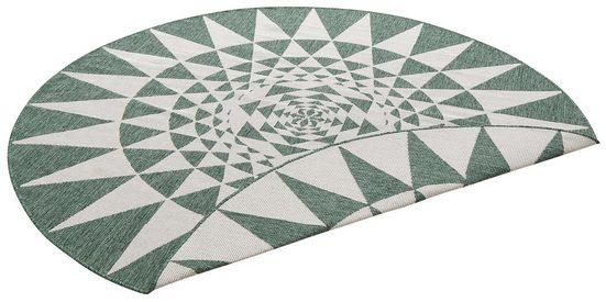 Teppich »Bela«, my home, rund, Höhe 5 mm, In- und Outdoor geeignet, Sisaloptik