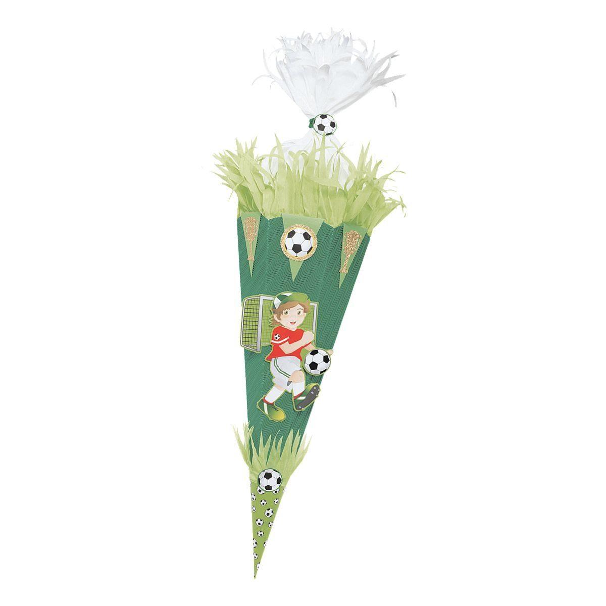 Folia Schultüten-Bastelset »Fußballer«