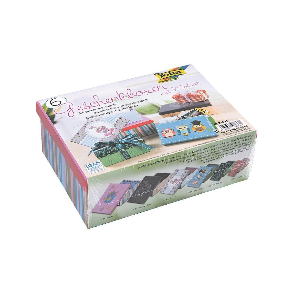 Folia Geschenkboxen-Set