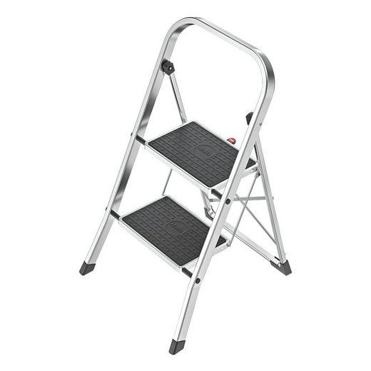Hailo Aluminium-Trittleiter 2 Stufen »K60 StandardLine«