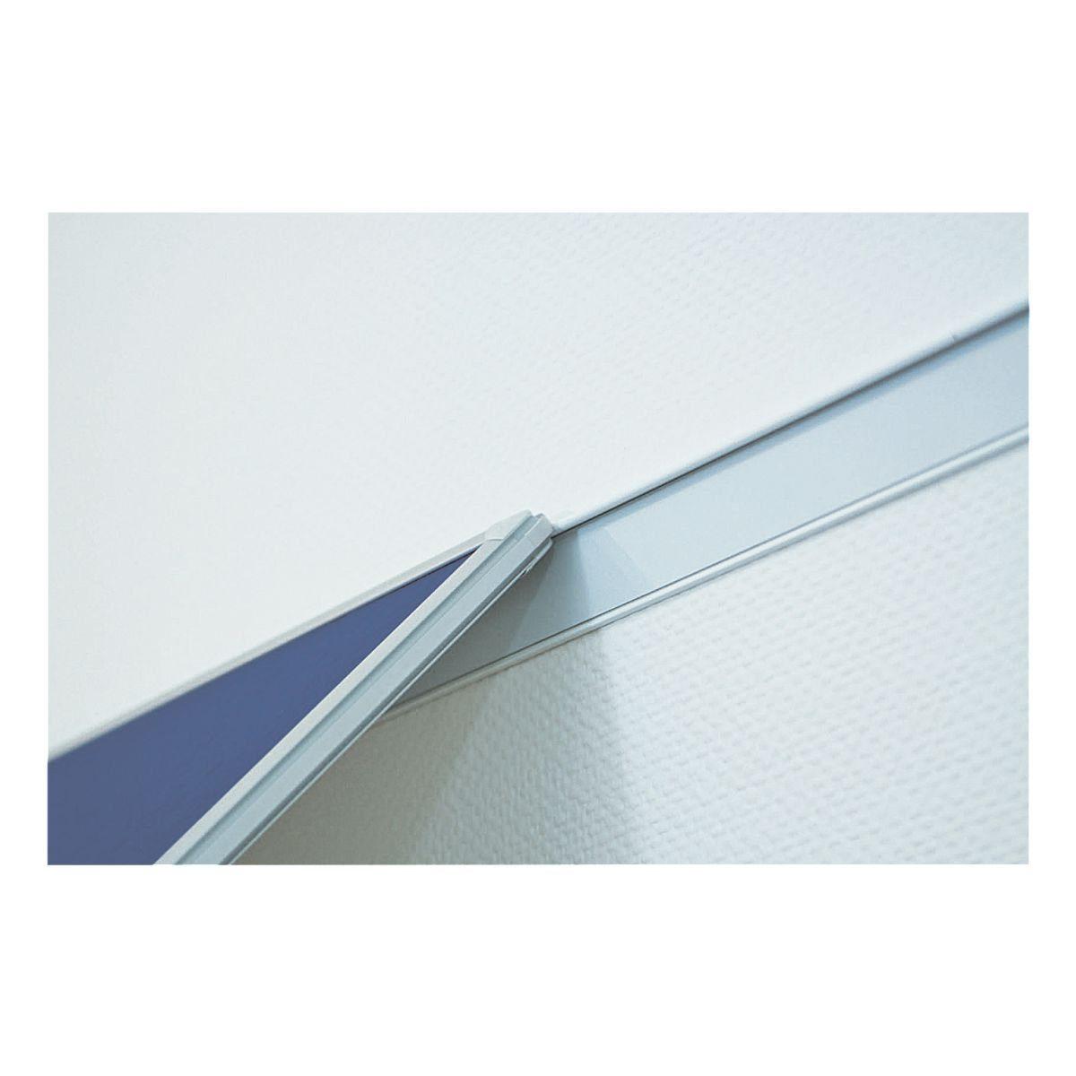 FRANKEN Wandschienen-Set 400 x 6 cm silber »PRO WS8400«