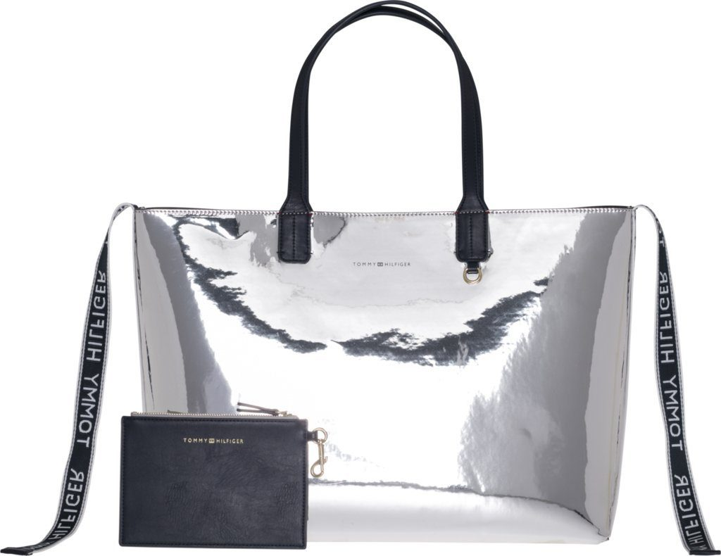 Tommy Hilfiger Tasche »ICONIC TOMMY TOTE MTLC«