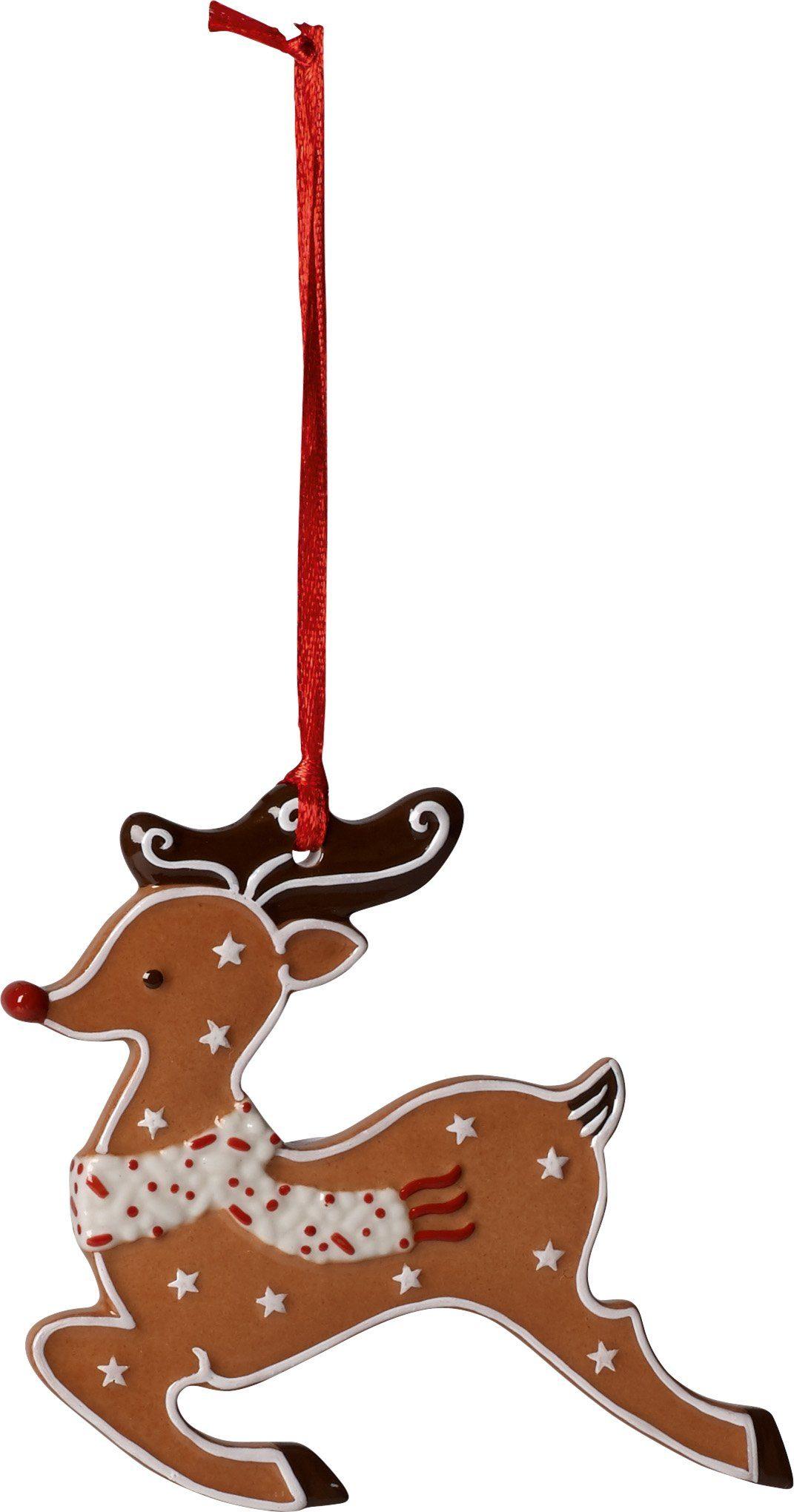 Villeroy & Boch Ornament Lebkuchenrentier »Winter Bakery Decoration«
