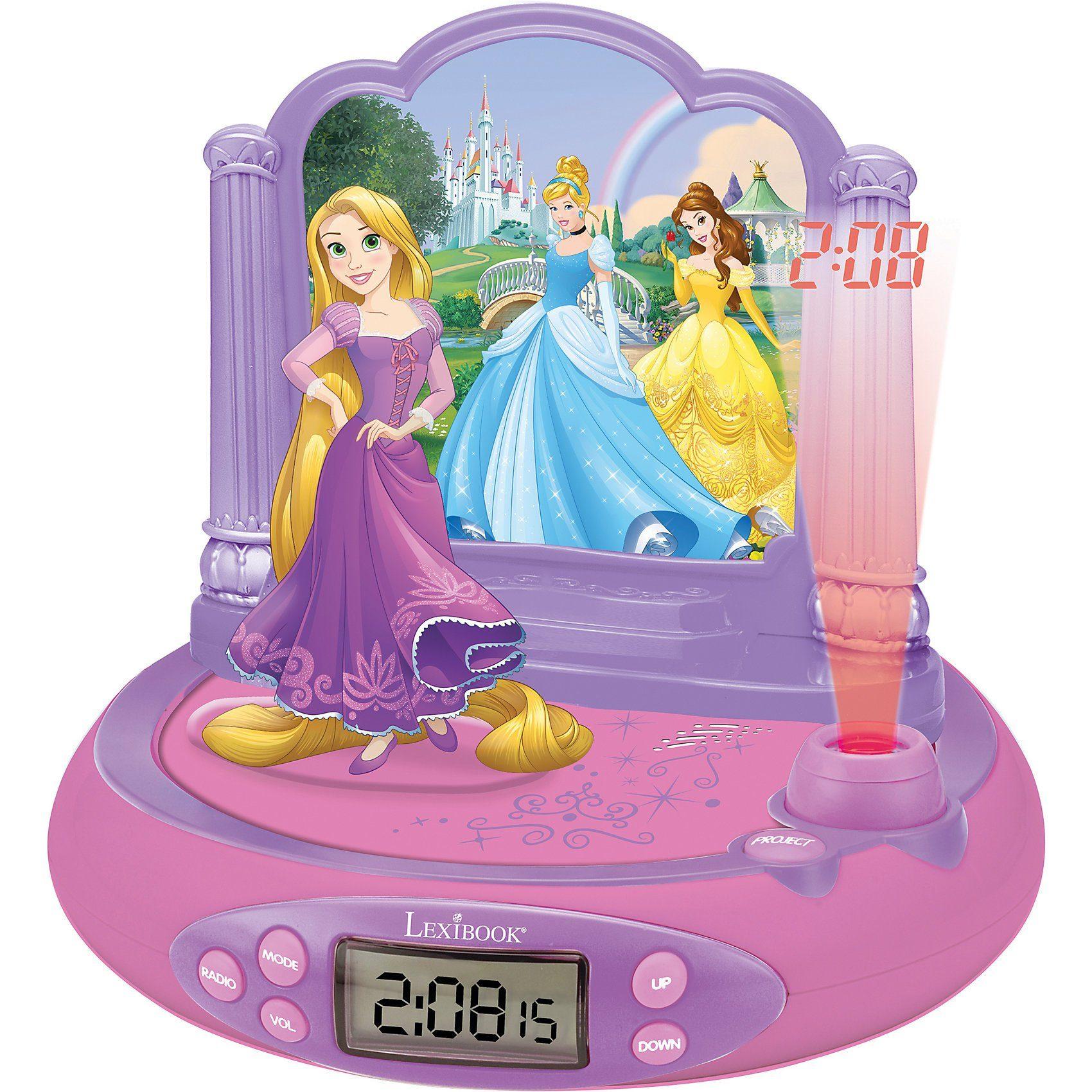 Lexibook® Disney Princess Radiowecker mit Projektion