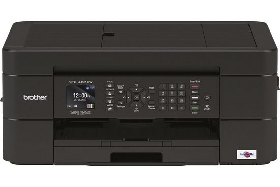 Brother Tintenstrahl-Multifunktionsdrucker »MFC-J491DW 4in1 Multifunktionsdrucker«