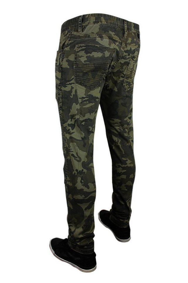 Herren trueprodigy Tapered-fit-Jeans VEX 731 grün   04057124043020