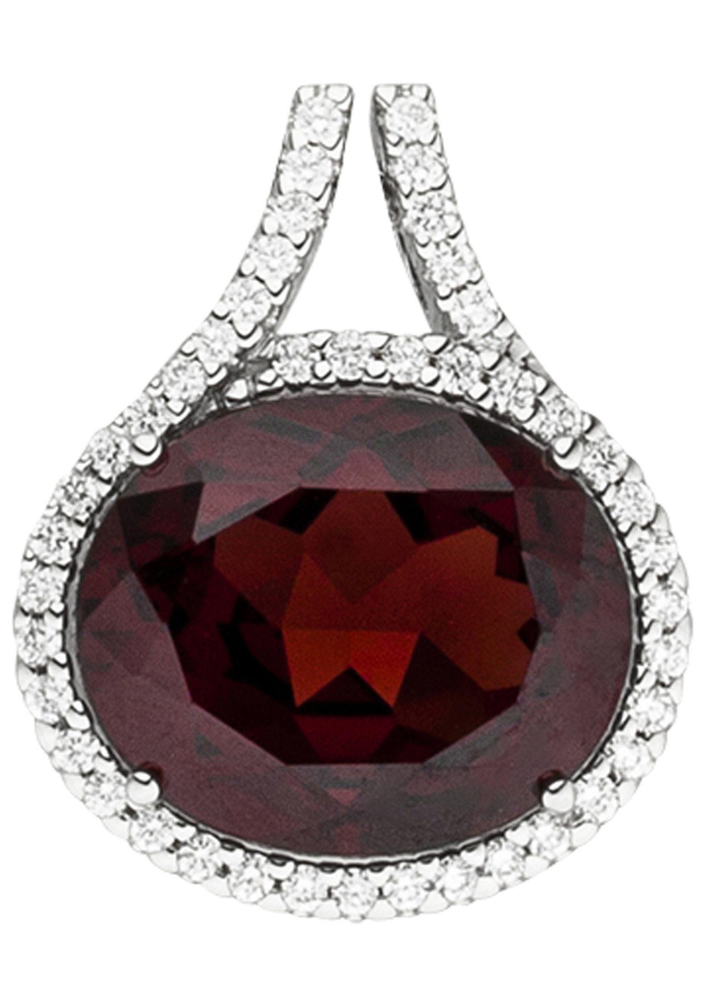 Und Online Kettenanhänger 44 Diamanten Mit Granat Jobo 585 Kaufen Weißgold thQrCsd