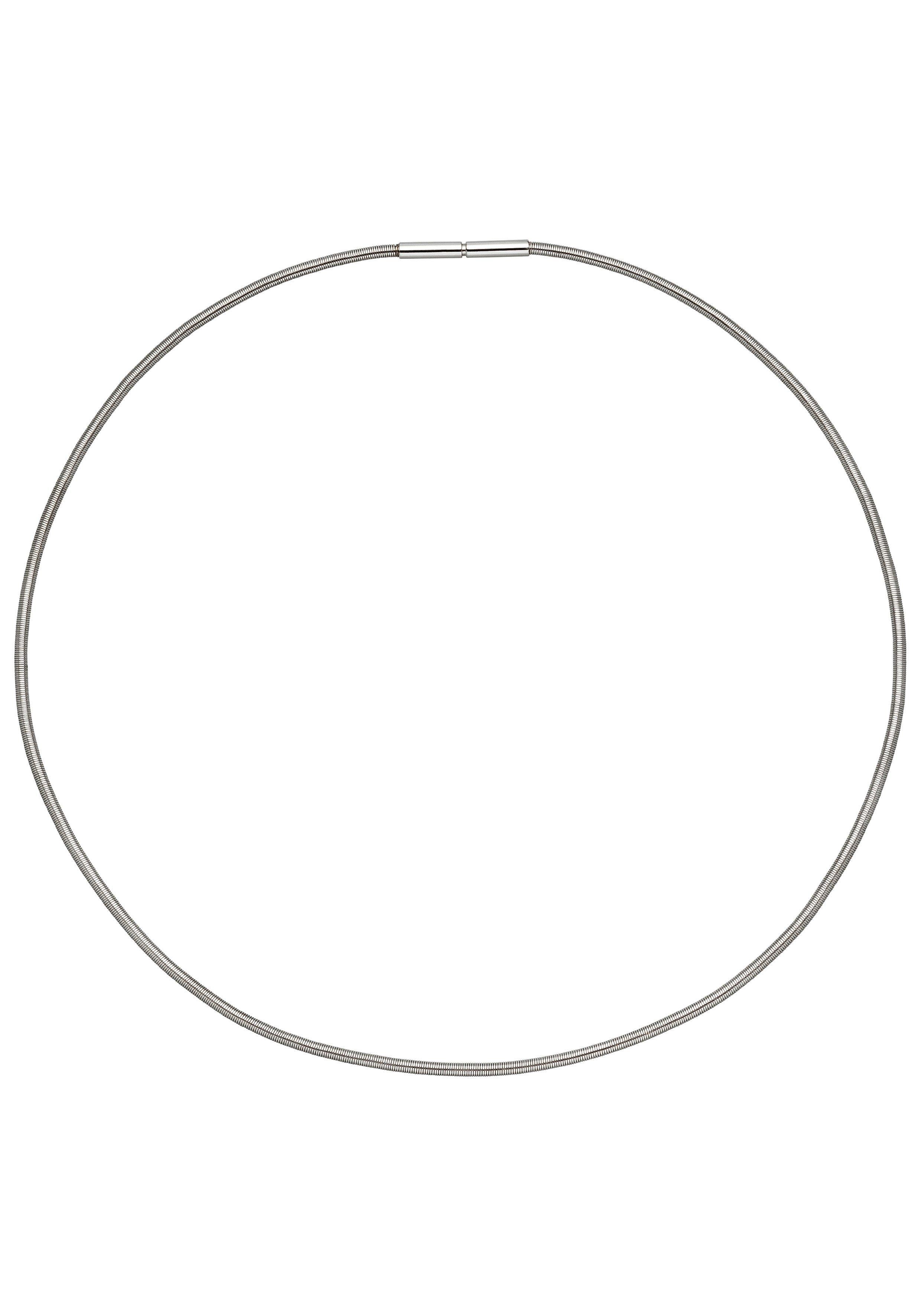 JOBO Halsreif 925 Silber 42 cm 2 mm