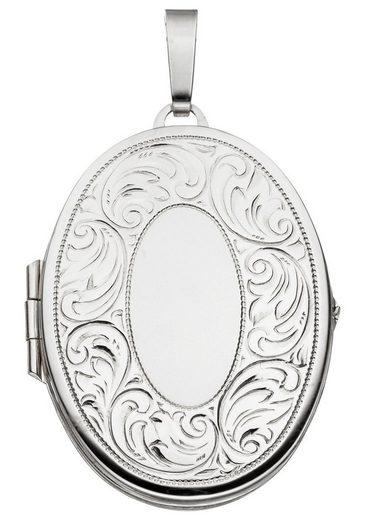 JOBO Medallionanhänger »Medaillon«, oval 925 Silber