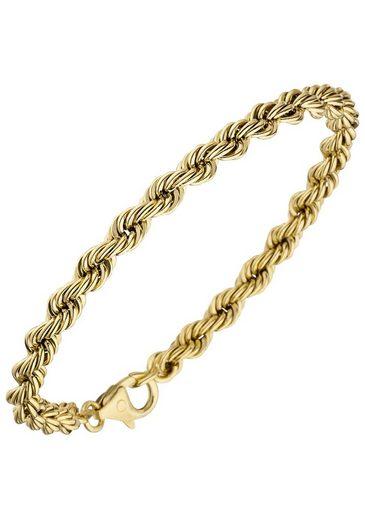JOBO Goldarmband Kordelarmband 585 Gold