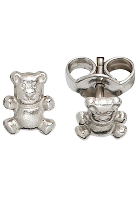 JOBO Paar Ohrstecker »Bär« 925 Silber