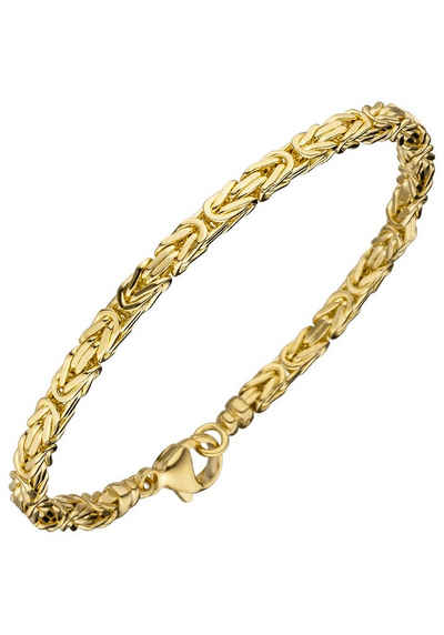 JOBO Goldarmband Königsarmband 585 Gold 19 cm 08f4c982b3