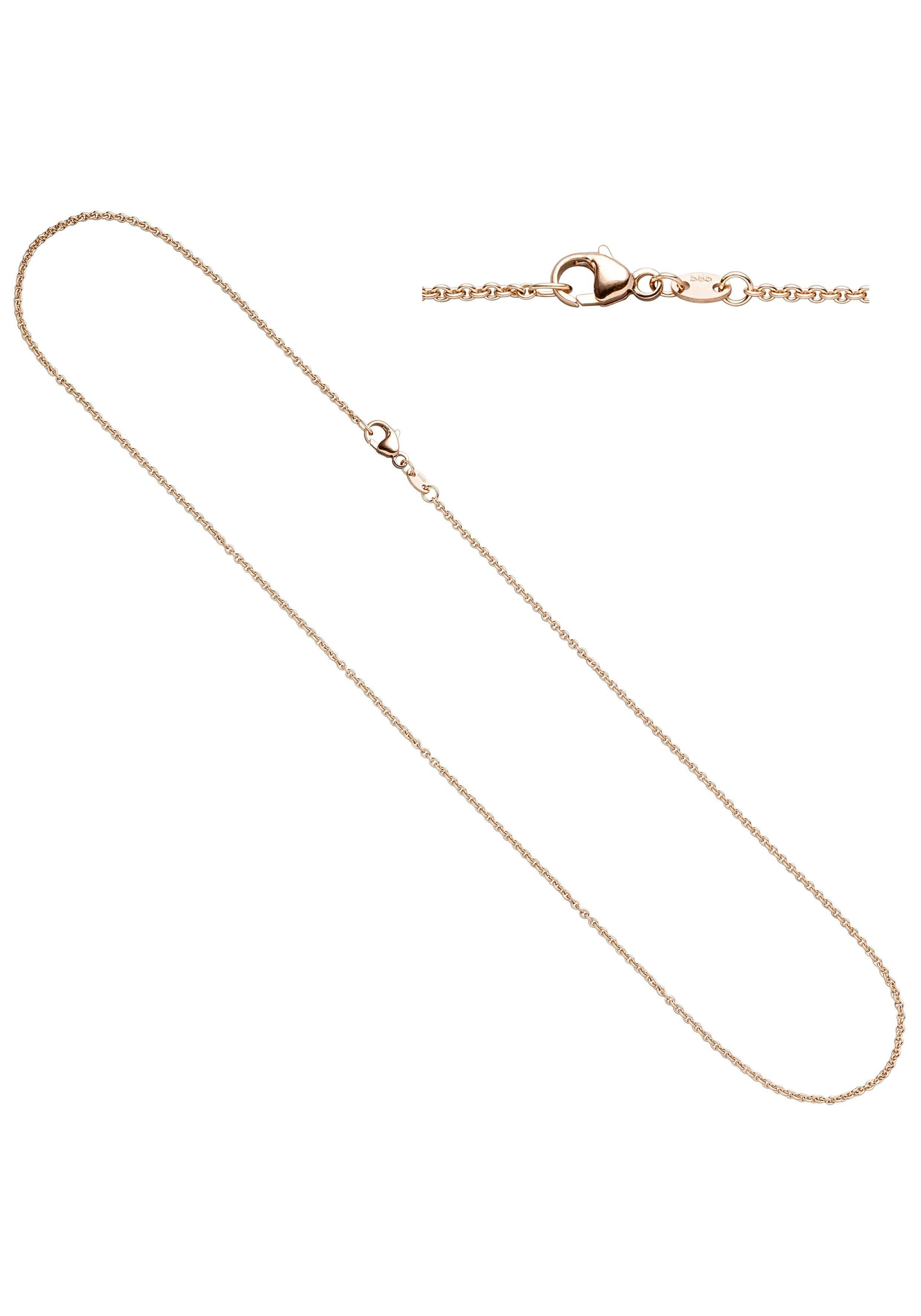 JOBO Goldkette Ankerkette 585 Roségold 42 cm 1,5 mm   Schmuck > Halsketten > Goldketten   JOBO