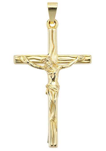 JOBO Kreuzanhänger, Kreuz 585 Gold