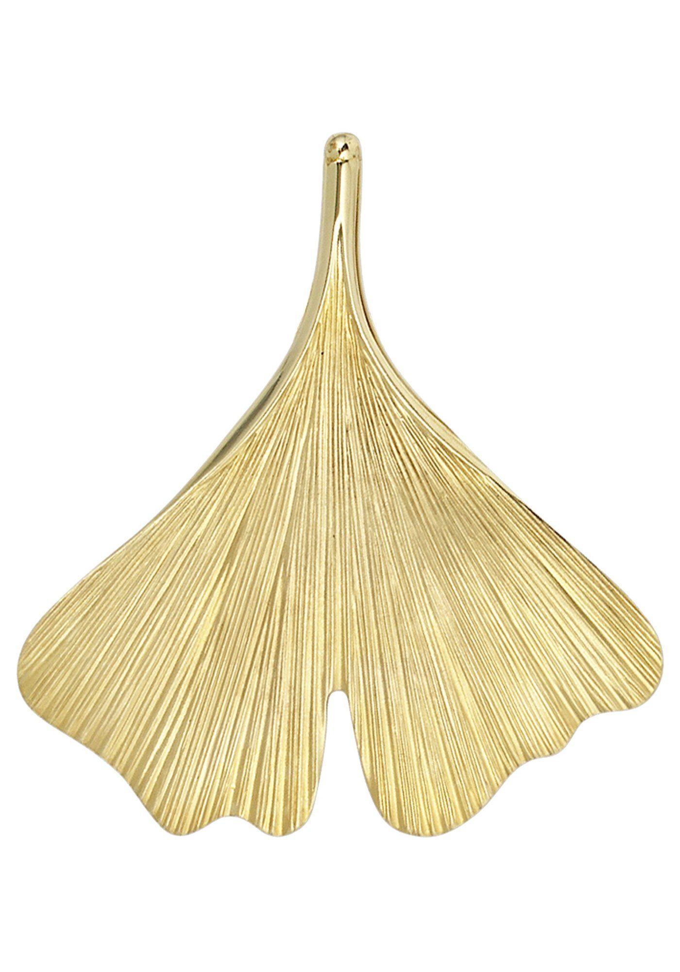 JOBO Kettenanhänger »Ginko« 375 Gold