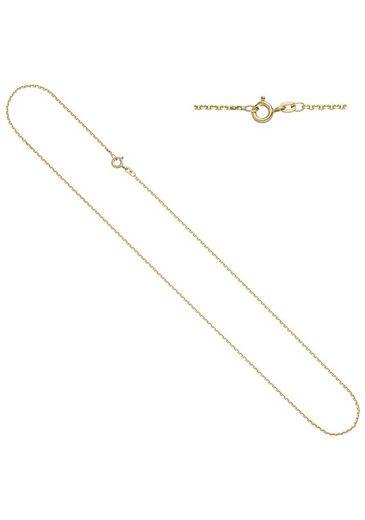 JOBO Goldkette, Ankerkette 333 Gold 42 cm 1,2 mm