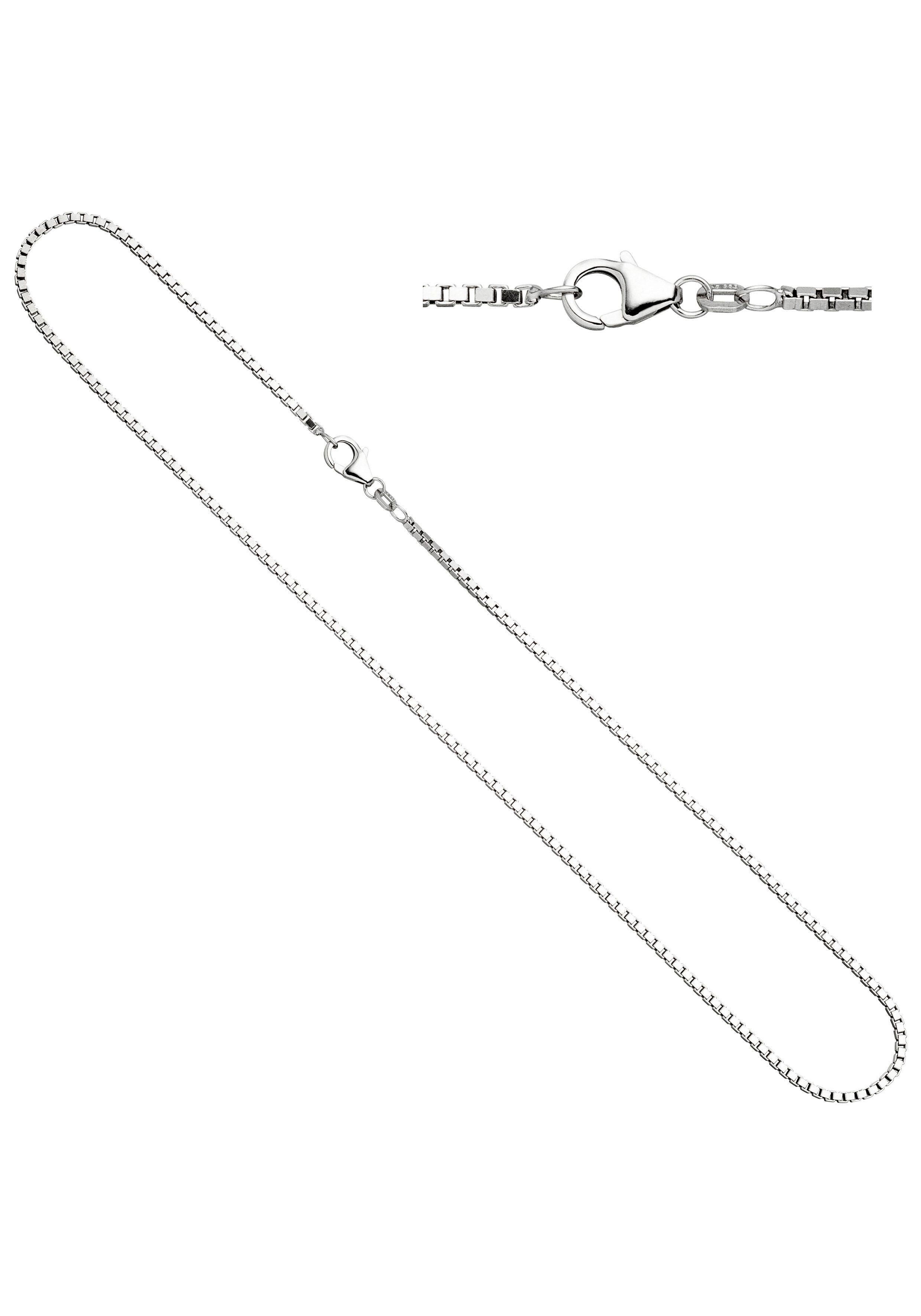 JOBO Silberkette Venezianerkette 925 Silber 50 cm 1,2 mm